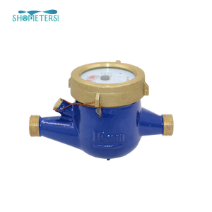 DN15 1/2 Inch Brass Body Multi Jet Water Meters