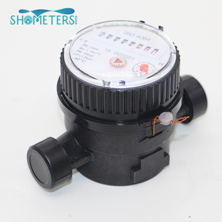 1/2 inch Plastic water meter single Jet water meter