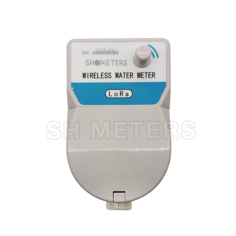 brass 15mm 20mm smart with valve lora smart remote water meter