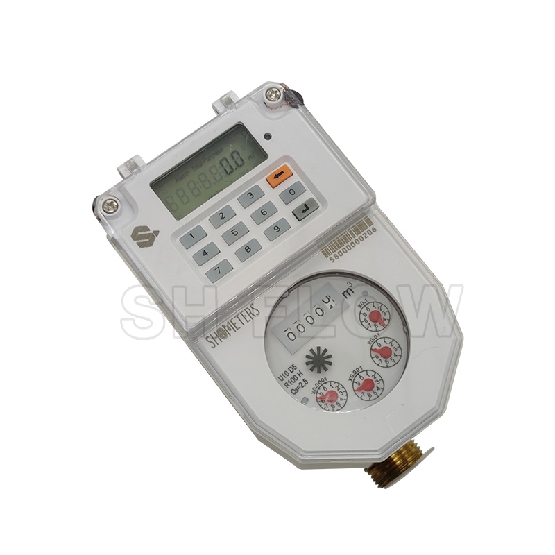 Integrated STS Prepaid Water Meter