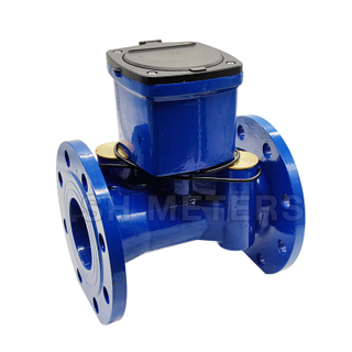 ductile iron 150mm 200mm display ultrasonic water meter with multiple sensor