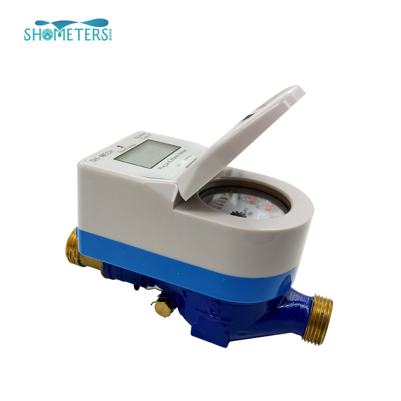 Intelligent prepaid water meter