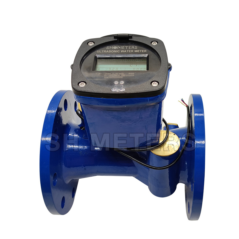 Large Diameter DN80 flange big ultrasonic water meter
