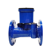 Bulk size remote Ultrasonic water meter support integrate system
