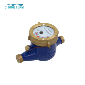 class c multi jet dry type brass body cold water meter