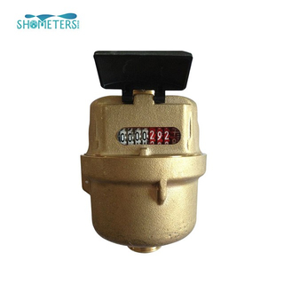 High quality brass casting body kent volumetric water meter