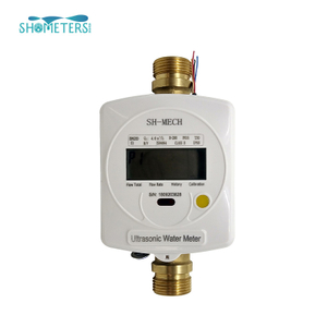 dn40 digital brass coupling remote ultrasonic water meter