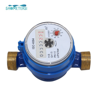 25mm dry dial reed switch brass single jet Water Meter