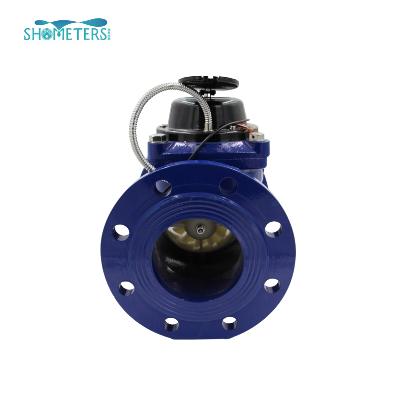 Dn400 flange end cast iron woltman water meter
